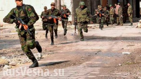 ISIS failure in Aleppo: «Tigers» and Russian Air Force make islamists run f ...