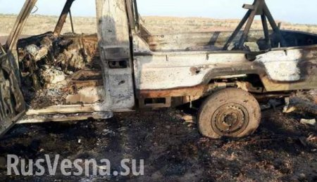 Militants' charred bodies: «Turan» special forces survey destroyed ISIS ga ...