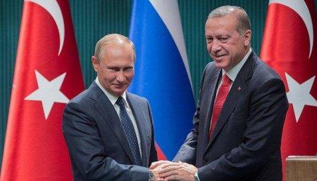 Владимир Путин иЭрдоган начали переговоры вСочи вузком составе