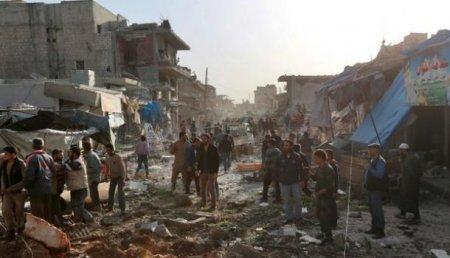 Авиаудар порынку вСирии: около 30 погибших