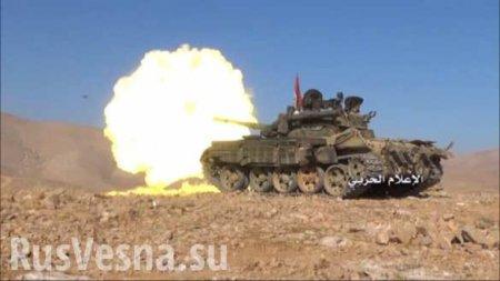 МОЛНИЯ: ВКС РФ и «Тигры» освободили западный берег Евфрата от ИГИЛ