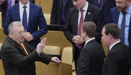 С миру по нитке: Жириновский призвал депутатов скинуться по миллиону рублей на его кампанию