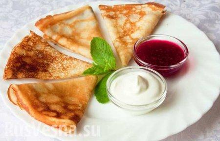 На Масленицу украинцам приходится печь «золотые» блины