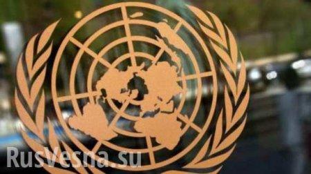 Россия заблокировала вООНпроект резолюции СШАпоСирии