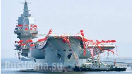 Первый китайский авианосец собственного производства готов кходовым испытаниям (+ФОТО)