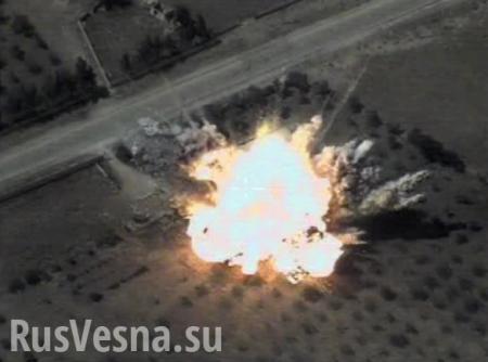 СРОЧНО: ВКС России разбомбили базы боевиков США в Сирии (ВИДЕО)