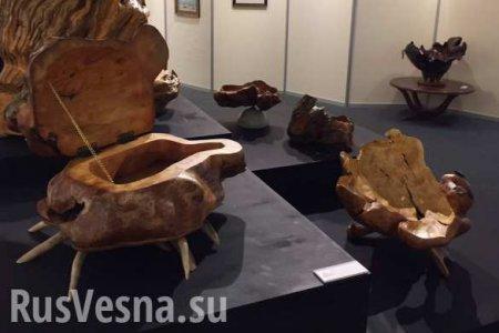 Скульптуры иживопись: Сергей Шойгу впервые показал публике свои художественные работы (ФОТО)