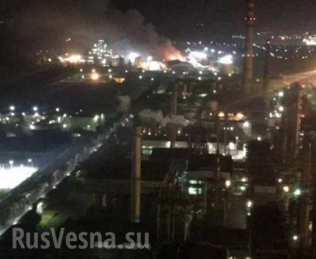Назаводе подОдессой вспыхнул масштабный пожар, людей эвакуируют (ФОТО, ВИДЕО)