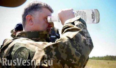 «Подлиз засчитан»: В Сети высмеяли попытки украинского пропагандиста обелить «пьяного в жопу» Порошенко