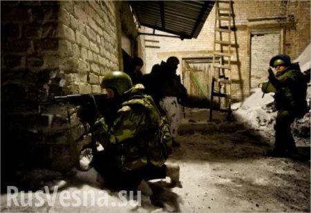 Уличный бой в Дебальцево (ВИДЕО)