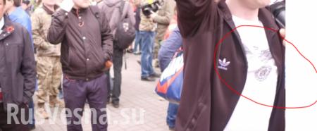 Про уродов и людей — как неонацисты срывали «Бессмертный полк» в Киеве (ВИДЕО)