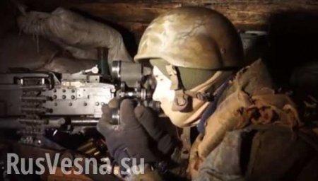 Армия ДНР укрепляет и оборудует свои позиции (ВИДЕО)