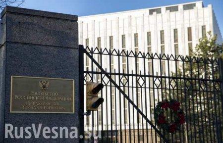 Опубликованы кадры обыска в генконсульстве России в Сан-Франциско (ВИДЕО)