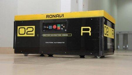 Российские инженеры создали первый полностью отечественный складской робот