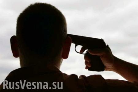 «Ветеран АТО» самоликвидировался под Херсоном