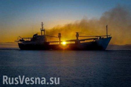 Растёт число жертв пожара насудах вКерченском проливе — подробности операции