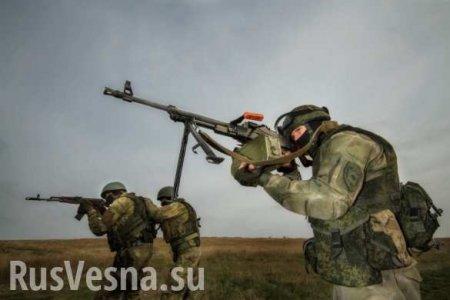 Как Армия ЛНР «нанесла удар пон.п. Золотое-5» (ВИДЕО)