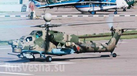 «Опустошители»: в войска поступила партия новейших боевых вертолётов