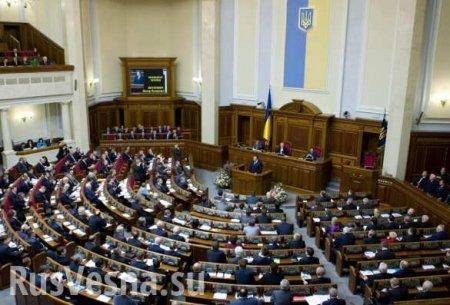 Спикер Рады выключил депутату микрофон из-за русского языка (+ВИДЕО)