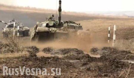 Танки Армии ЛНР готовы к боям (ВИДЕО)