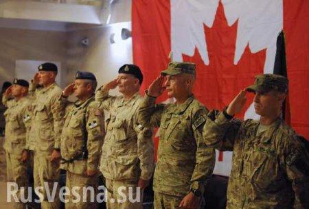 Канадские наёмники остаются воевать против Донбасса