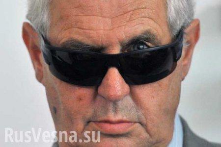 Автономия дляДонбасса: президент Чехии призвал Украину изменить Конституцию