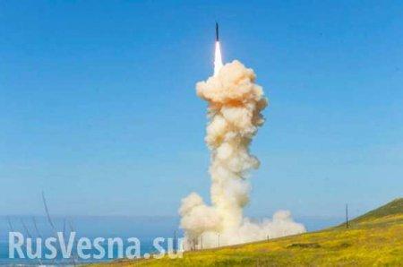 США испытали две противоракеты для перехвата межконтинентальных баллистических ракет (ВИДЕО)