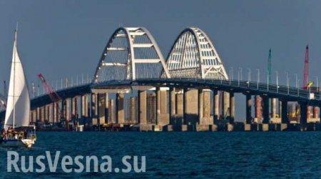 В Росгвардии создана спецбригада для охраны Крымского моста