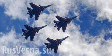 «Это Путин!? Русские великолепны!» — иностранцы поражены манёвром звена истребителей Су-30 (ВИДЕО)