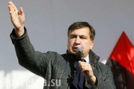 Саакашвили рассказал о «революции» на Украине
