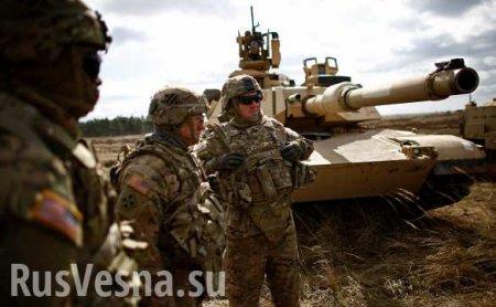 Пентагон определил направление главного удара в Европе