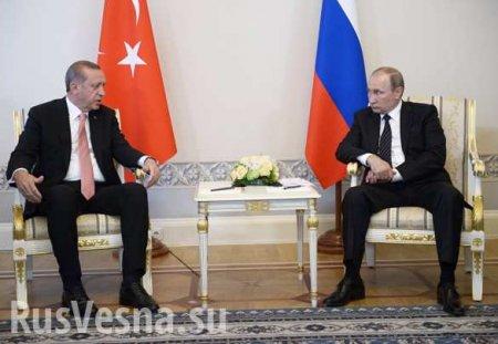 Путин обсудил с Эрдоганом контракты по С-400