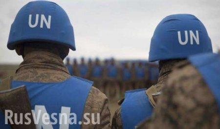 Введение миротворцев наДонбасс — вприоритете, — Порошенко