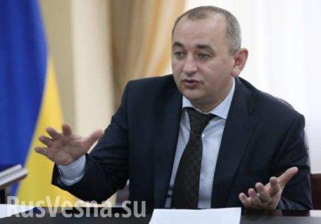 Наглавного военного прокурора Украины заведут дело «засамоволку»