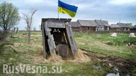 Це Европа: ПодЧерниговом украли старую туалетную будку, построенную заден ...