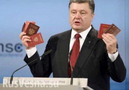 Германия и Франция осудили выдачу паспортов РФ жителям Донбасса