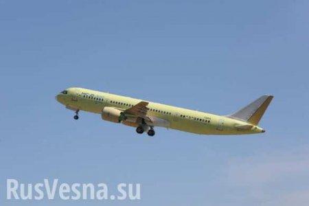 Опубликованы кадры полёта опытного образца лайнера МС-21-300 (ФОТО, ВИДЕО)