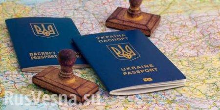 ВГосдуме оценили идею Киева лишать украинского паспорта заполучение росси ...