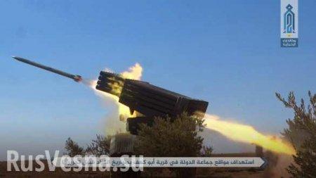 Обстановка в Сирии обостряется: боевики накапливают большое силы для наступ ...