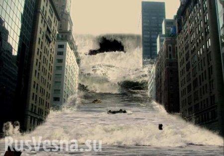 Американцы впанике убегают отприбывающей воды — кадры прорыва дамбы (ВИДЕ ...