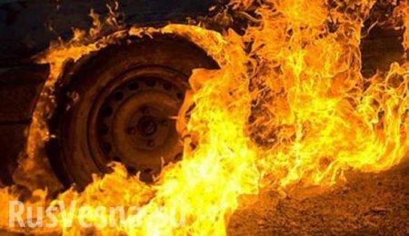Донбасс: Автомобиль ВСУ подорвался на минах, оккупанты понесли потери