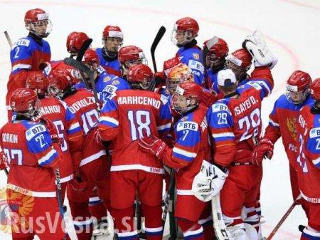 МОЛНИЯ: Хоккейная сборная России всухую разгромила Австрию на чемпионате ми ...