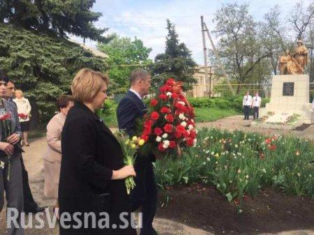 «Будем помогать», — российский политик приехал в ЛНР (ФОТО)