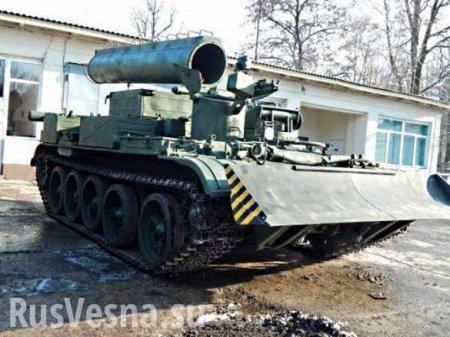 «Беззубр»: ВоЛьвове разработали «новую» бронемашину набазе старого советского танка (ВИДЕО)