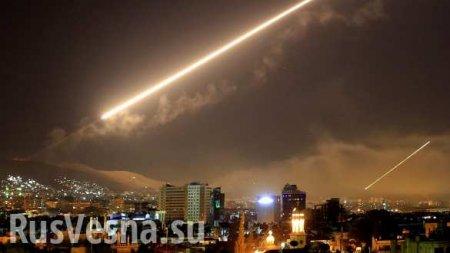 СРОЧНО: Над Сирией сбиты неопознанные объекты
