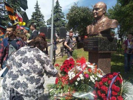 В ДНР открыли памятник легендарному «Мамаю» (ФОТО, ВИДЕО)