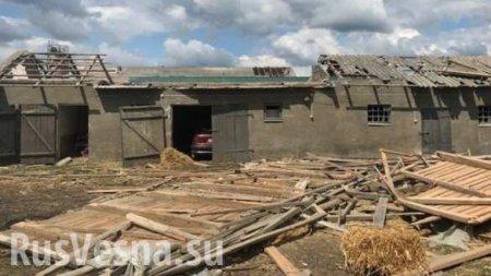 Мощный смерч разрушил более 120 домов в Польше (ФОТО, ВИДЕО)