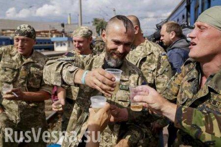 Холера и брюшной тиф косят карателей на Донбассе