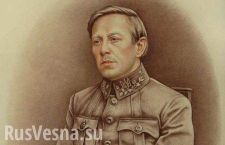 Гигантский портрет Петлюры торжественно открыли в Киеве (ВИДЕО)