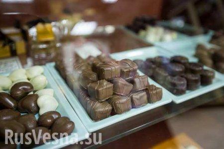 Россия завалила «шоколадный» континент отечественными конфетами